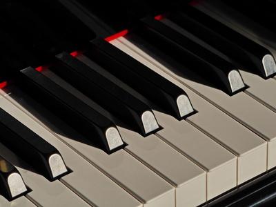 Auch das Klavier hat gelitten