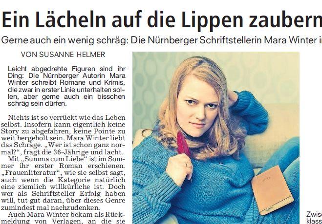 Porträt in den Nürnberger Nachrichten